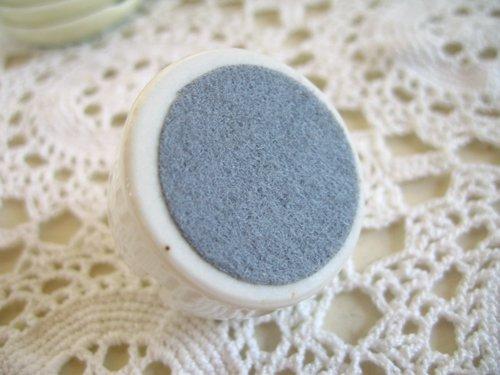 マニー カンパーニュ 陶器 メモスタンド丸の商品写真4