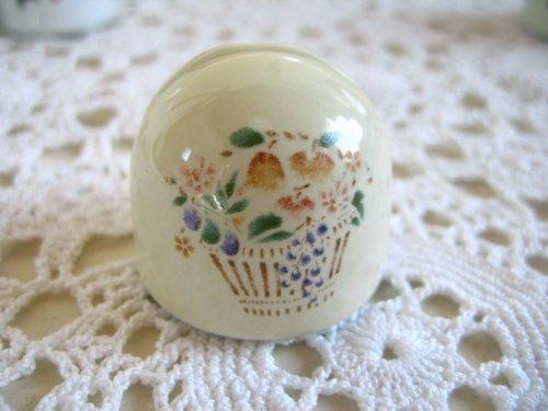 マニー プロヴァンス 陶器 メモスタンド丸の商品写真2
