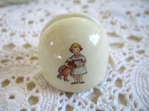 マニー プチメゾン 陶器 メモスタンド丸(2柄)の商品写真3