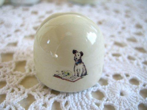 マニー プチメゾン 陶器 メモスタンド丸(2柄)の商品写真6