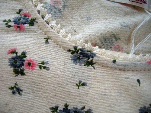 マーリア バドローズ フラワープリントカットソー ブルーの商品写真5