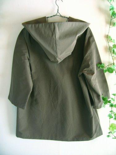 バレリーナピンク グログランビッグフードコートの商品写真2