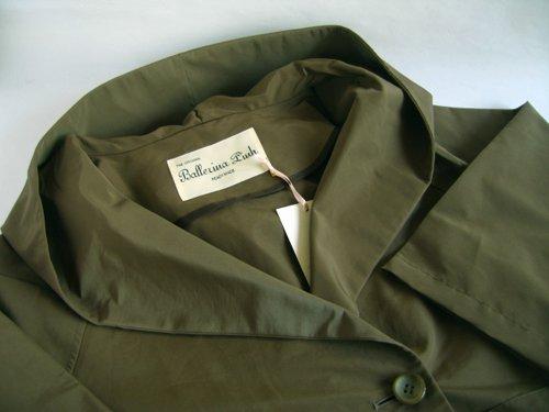 バレリーナピンク グログランビッグフードコートの商品写真4