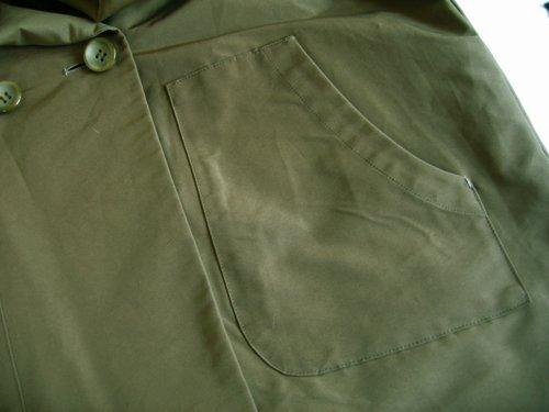 バレリーナピンク グログランビッグフードコートの商品写真7