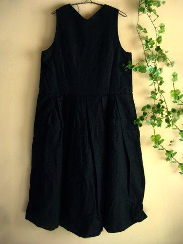 s.t.closet frabjous ノースリーブタックワンピースの商品写真2