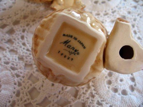 マニー プチメゾン 陶器 ピンクッション くまCの商品写真4