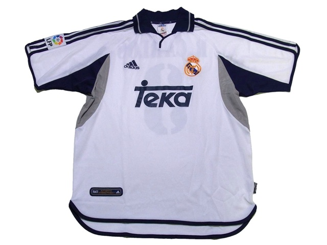 Real Madrid/00-01/H