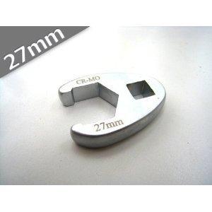 【送料無料】1/2デラックスクローフットレンチ(27mm)