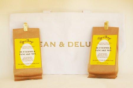 エッグスンシングス パンケーキミックス2個 + DEAN&DELUCA ホリデートート