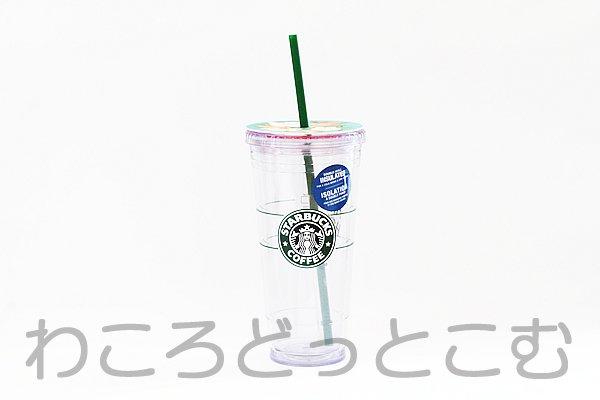 日本未発売!!ハワイ限定スターバックス ロゴコールドカップタンブラー ベンティ(Venti)