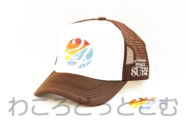 ハワイ限定 24karats SURF(24カラッツサーフ) レインボーサークルキャップ(帽子)