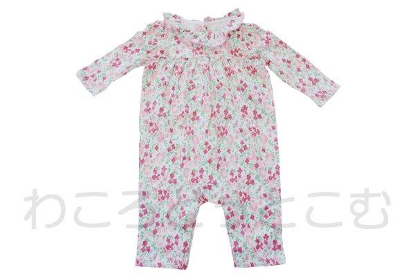 ラルフローレン(Ralph Lauren) 幼児ロンパース 花柄 3か月(53㎝~61㎝)