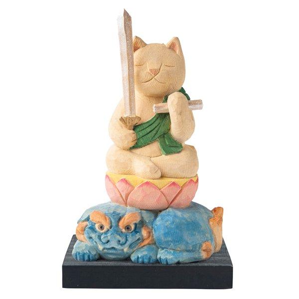 猫buddha 文殊菩薩