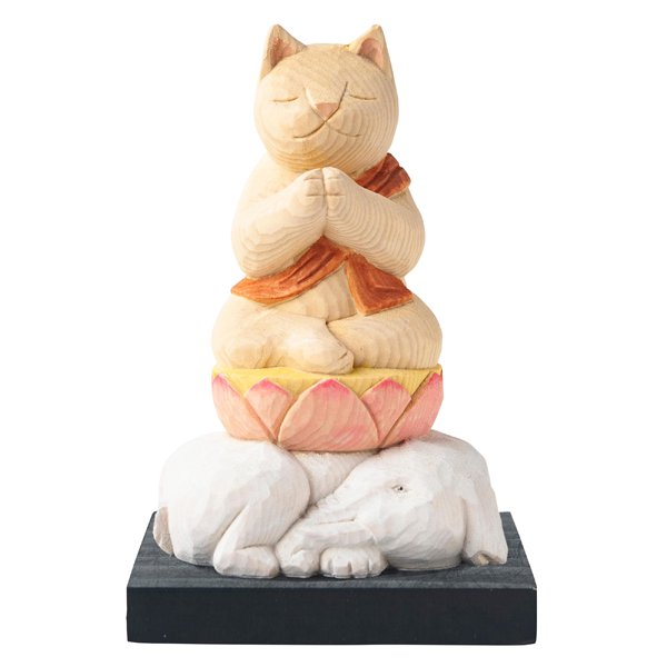 猫buddha 普賢菩薩