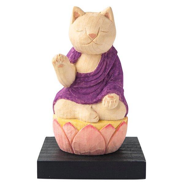 【お取り置き分】猫buddha 阿弥陀如来