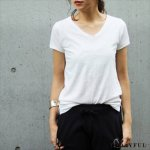 TODAYFUL トゥデイフル Useful V Neck Tee 11690601 【16AW1】【SALE】【40%OFF】<img class='new_mark_img2' src='https://img.shop-pro.jp/img/new/icons20.gif' style='border:none;display:inline;margin:0px;padding:0px;width:auto;' />