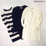 TODAYFUL トゥデイフル Waffle Knit OP 11620321 【16AW2】 【SALE】【30%OFF】 <img class='new_mark_img2' src='//img.shop-pro.jp/img/new/icons20.gif' style='border:none;display:inline;margin:0px;padding:0px;width:auto;' />