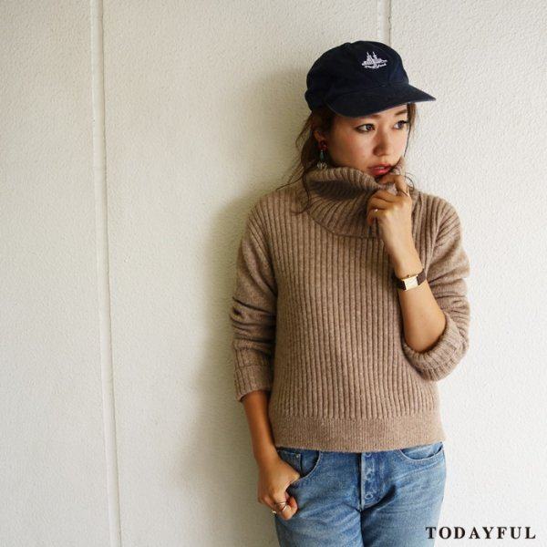 TODAYFUL トゥデイフル Rib Turtle Knit 11620535 【16AW2】 【SALE】【70%OFF】