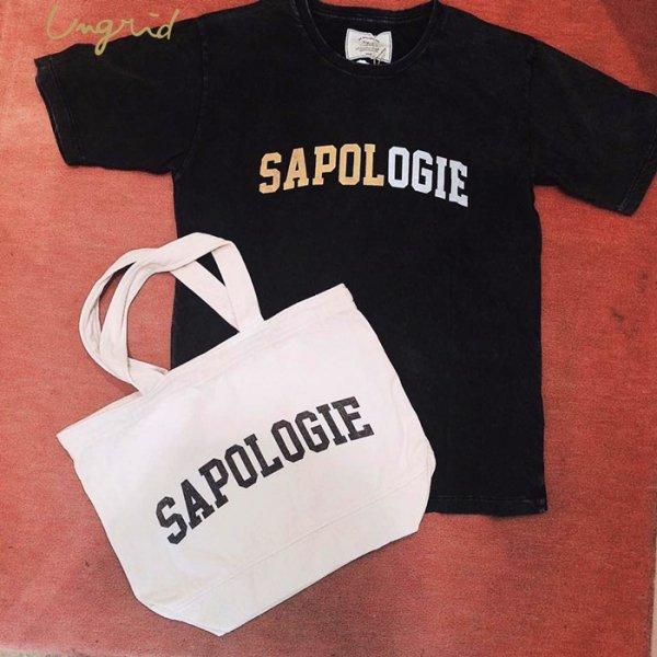 UNGRID アングリッド 【Ca】SAPOLOGIEプリントTee SET 111732704501 【17SS2】【SALE】【40%OFF】