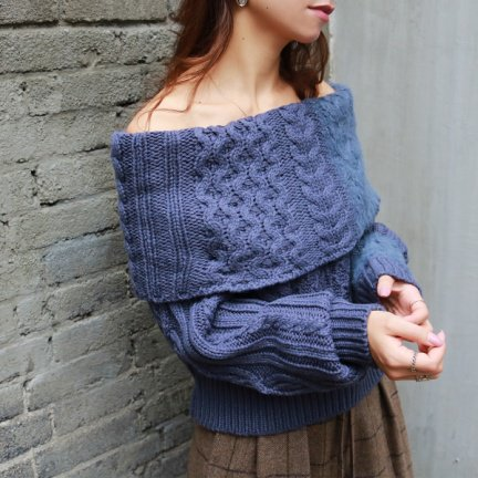 TODAYFUL トゥデイフル Offshoulder Cable Knit 11720553 【17AW2】【SALE】【20%OFF】