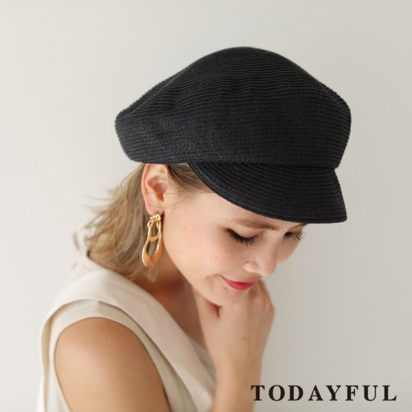 TODAYFUL トゥデイフル Paper Blade Casquette 11811027 【18SS1】【新作】