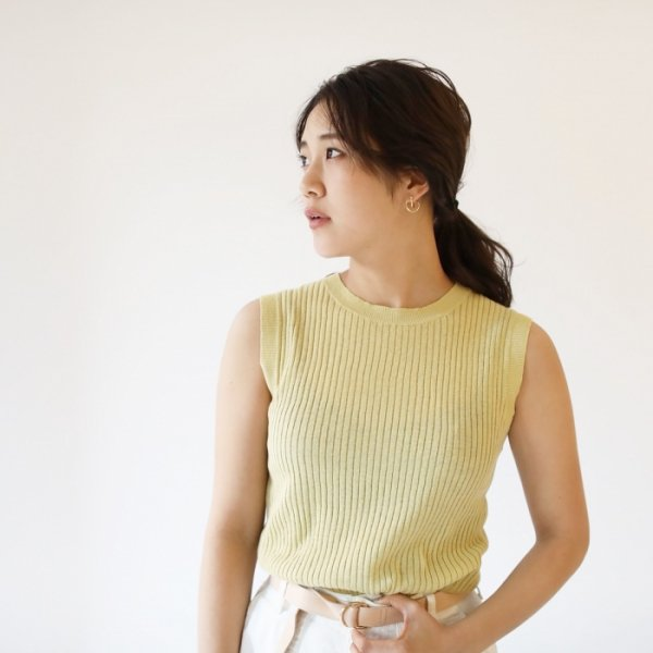 TODAYFUL トゥデイフル Cotton Linen Tank 11810537 【18SS2】 【SALE】【50%OFF】