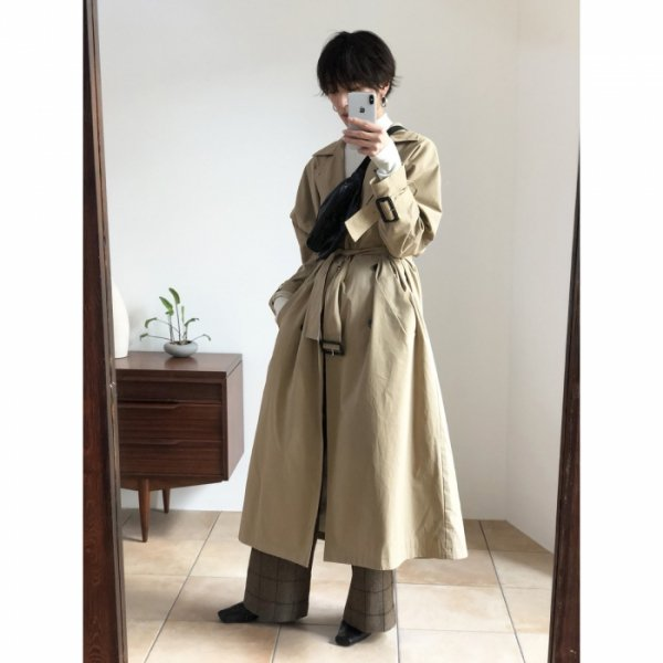 TODAYFUL トゥデイフル Over Trench Coat 11820003 【18AW1】【新作】【20%OFF】