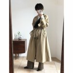 TODAYFUL トゥデイフル Over Trench Coat 11820003 【18AW1】【新作】 <img class='new_mark_img2' src='https://img.shop-pro.jp/img/new/icons11.gif' style='border:none;display:inline;margin:0px;padding:0px;width:auto;' />