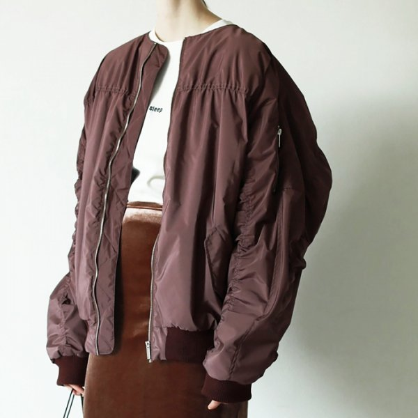 TODAYFUL トゥデイフル Oversize Gather MA-1 11820202 【18AW1】【SALE】【30%OFF】