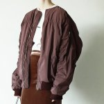 TODAYFUL トゥデイフル Oversize Gather MA-1 11820202 【18AW1】【SALE】【30%OFF】<img class='new_mark_img2' src='https://img.shop-pro.jp/img/new/icons20.gif' style='border:none;display:inline;margin:0px;padding:0px;width:auto;' />