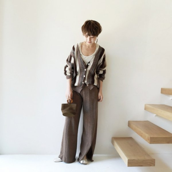 TODAYFUL トゥデイフル Gatherwaist Knit PT 11820701 【18AW1】【人気商品】
