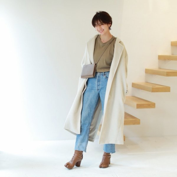 TODAYFUL トゥデイフル Shaggy Over Coat 11820010 【18AW2】【30%OFF】