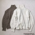 TODAYFUL トゥデイフル Bulky Turtle Knit 11820559 【18AW2】【先行予約】【クレジット限定 納期12月〜1月頃予定】 <img class='new_mark_img2' src='https://img.shop-pro.jp/img/new/icons15.gif' style='border:none;display:inline;margin:0px;padding:0px;width:auto;' />