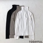 TODAYFUL トゥデイフル Dualwarm Turtle Tops 11820635 【18AW2】【先行予約】【クレジット限定 納期12月〜1月頃予定】 <img class='new_mark_img2' src='https://img.shop-pro.jp/img/new/icons15.gif' style='border:none;display:inline;margin:0px;padding:0px;width:auto;' />