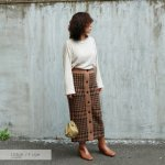 TODAYFUL トゥデイフル Check Knit SK 11820812 【18AW2】【先行予約】【クレジット限定 納期11月〜12月頃予定】 <img class='new_mark_img2' src='https://img.shop-pro.jp/img/new/icons15.gif' style='border:none;display:inline;margin:0px;padding:0px;width:auto;' />