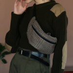 TODAYFUL トゥデイフル Check Waist Pouch 11821060 【18AW2】【先行予約】【クレジット限定 納期11月〜12月頃予定】 <img class='new_mark_img2' src='https://img.shop-pro.jp/img/new/icons15.gif' style='border:none;display:inline;margin:0px;padding:0px;width:auto;' />
