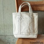 TODAYFUL トゥデイフル Stitch Canvas Tote 11821074 【18AW2】【先行予約】【クレジット限定 納期12月〜1月頃予定】 <img class='new_mark_img2' src='https://img.shop-pro.jp/img/new/icons15.gif' style='border:none;display:inline;margin:0px;padding:0px;width:auto;' />