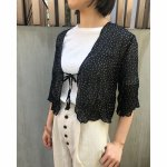TODAYFUL トゥデイフル Chiffon Dot Blouse 11710449 【19SS1】【新作】 <img class='new_mark_img2' src='//img.shop-pro.jp/img/new/icons11.gif' style='border:none;display:inline;margin:0px;padding:0px;width:auto;' />