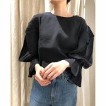 TODAYFUL トゥデイフル 2way Silkete Blouse 11910409 【19SS1】【新作】 <img class='new_mark_img2' src='//img.shop-pro.jp/img/new/icons11.gif' style='border:none;display:inline;margin:0px;padding:0px;width:auto;' />