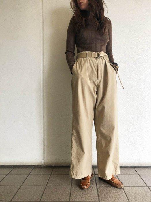 TODAYFUL トゥデイフル Whole Garment Rib Knit 11910514 【19SS1】【先行予約】【クレジット限定 納期1月〜2月頃予定】