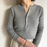 TODAYFUL トゥデイフル Henleyneck Rib Knit 11910525 【19SS1】【先行予約】【クレジット限定 納期1月〜2月頃予定】 <img class='new_mark_img2' src='https://img.shop-pro.jp/img/new/icons15.gif' style='border:none;display:inline;margin:0px;padding:0px;width:auto;' />