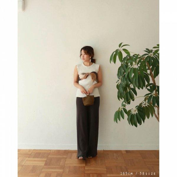 TODAYFUL トゥデイフル Linen Knit Pants 11910704 【19SS1】【先行予約】【クレジット限定 納期2月〜3月頃予定】