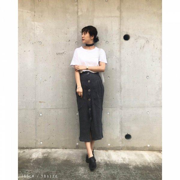 TODAYFUL トゥデイフル Waffle Pencil Skirt 11910809 【19SS1】【SALE】【30%OFF】