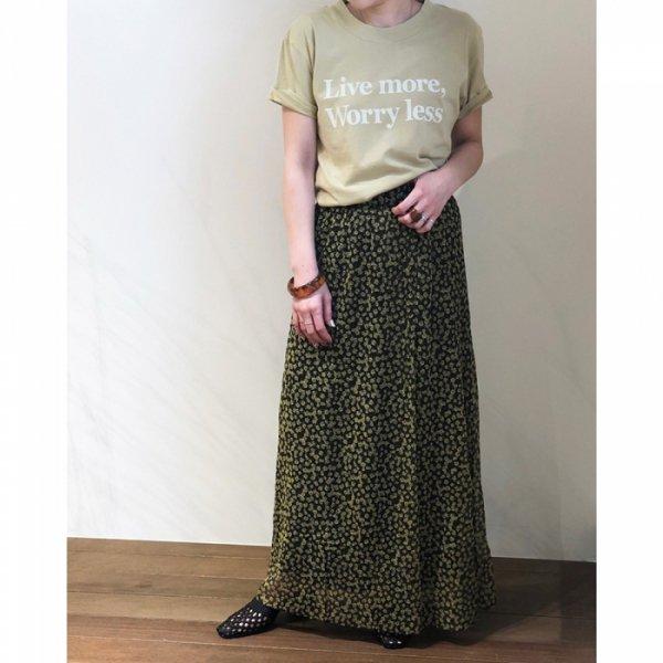 TODAYFUL トゥデイフル Flower Slit Skirt 11910810 【19SS1】【先行予約】【クレジット限定 納期3月〜4月頃予定】