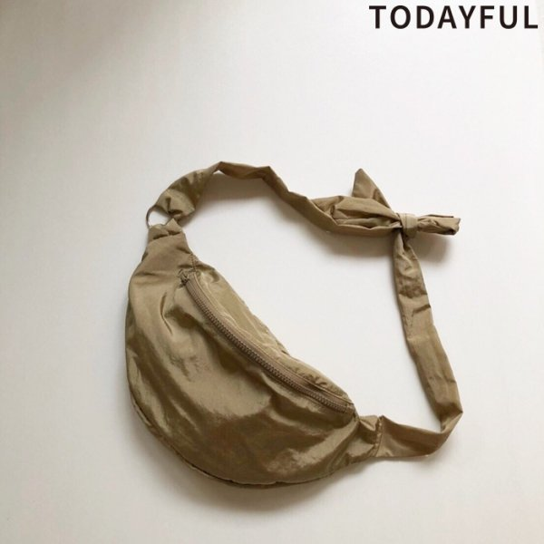 TODAYFUL トゥデイフル Nylon Tie Waistpouch 11911036 【19SS1】【先行予約】【クレジット限定 納期2月〜3月頃予定】