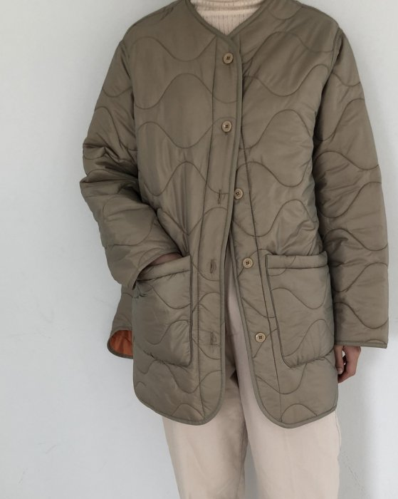 TODAYFUL トゥデイフル Collarless Down Jacket 11920103 【19AW1】【SALE】【30%OFF】