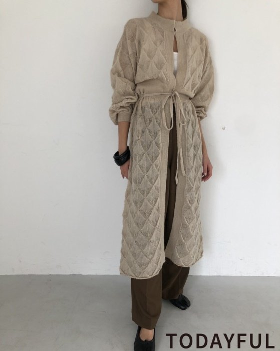 TODAYFUL トゥデイフル Lacy Pattern Dress 11920307 【19AW1】【SALE】【30%OFF】