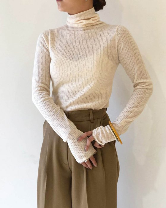 TODAYFUL トゥデイフル Jacquard Turtle Knit 11920515 【19AW1】【SALE】【30%OFF】