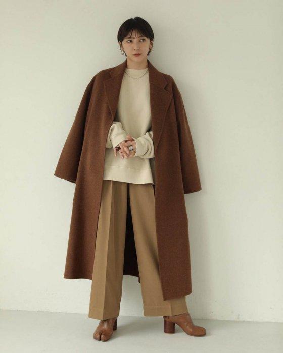 TODAYFUL トゥデイフル Wool Over Coat 11920008 【19AW2】【先行予約】【クレジット限定 納期11月〜12月頃予定】