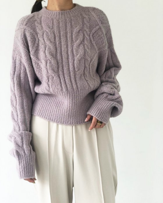TODAYFUL トゥデイフル Soft Cable Knit 11920540 【19AW2】【SALE】【30%OFF】